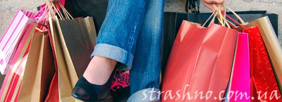 Простые пакеты для шопинга