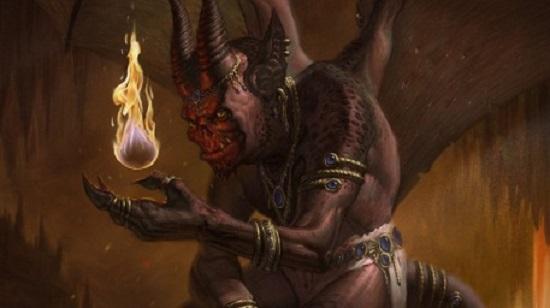 демон дэв