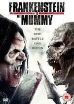 плакат к фильму Франкенштейн против мумии