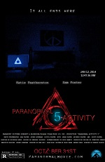 постер фильма Паранормальное явление 5