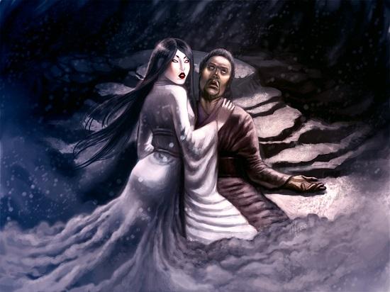 японский вампир призрак юки-онна