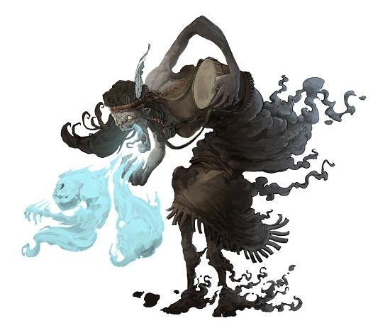 дух ачери