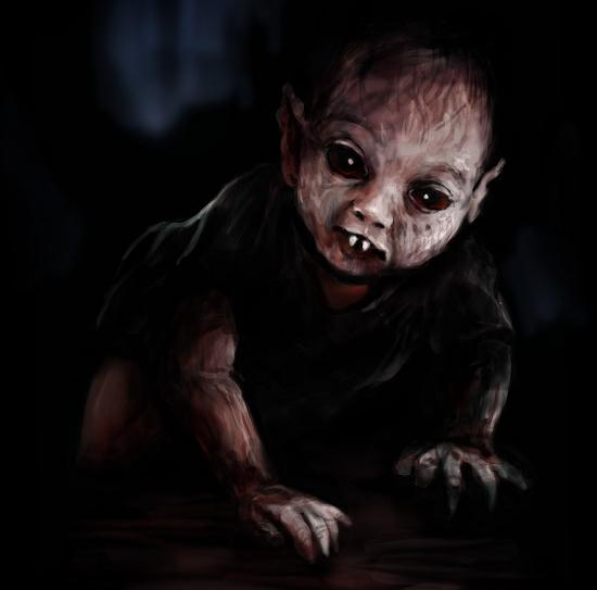 ребенок вампир ангиак