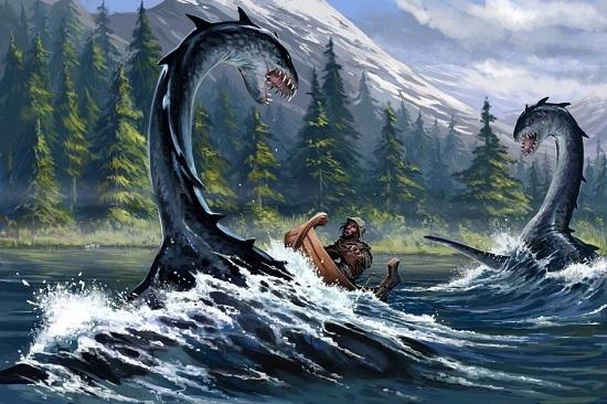 озерный монстр огопого