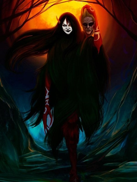призрак вампир патасола