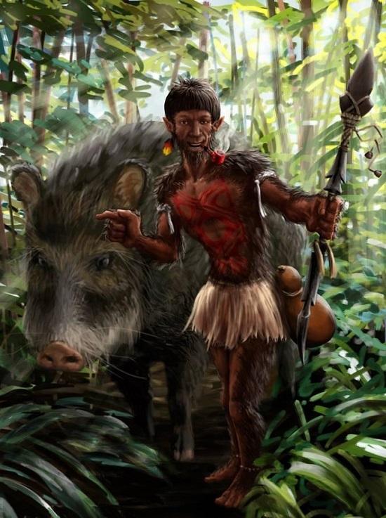 Южноамериканские мифические существа