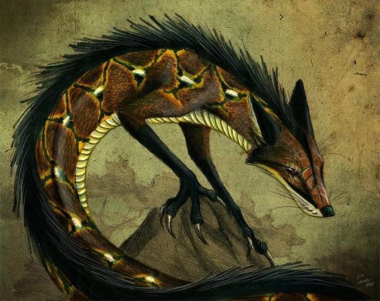 лиса змея нгурувилу