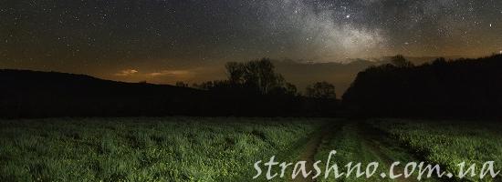 ночное поле