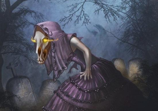 дух с лошадиной головой сигуанаба