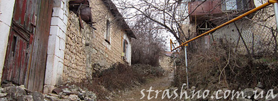 Улочка в Азербайджане