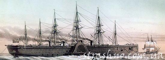 Корабль-призрак Грейт Истерн