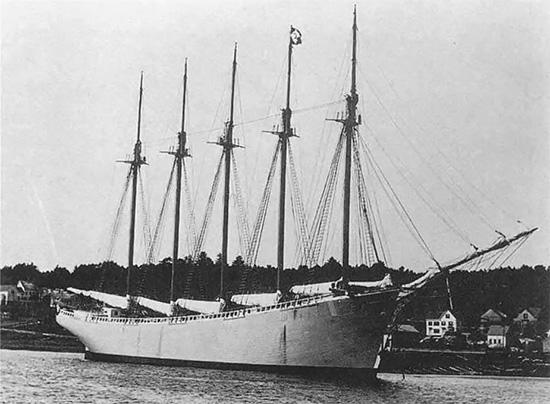 Призрачный корабль Кэрролл Диринг
