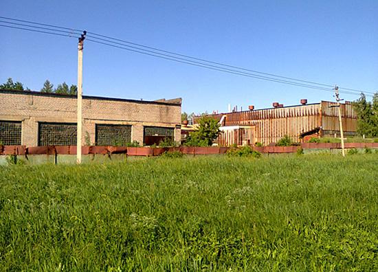 Заброшенные заводские цеха