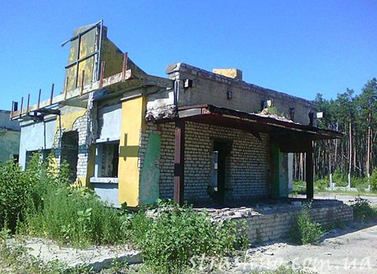 Старая автозаправочная станция