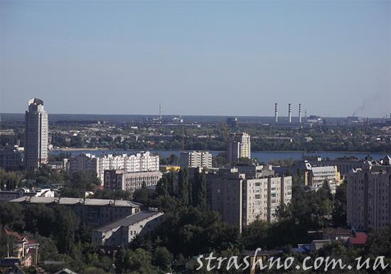 Панорама Липецка с крыши рембазы