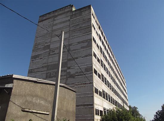 Недостроенная ремонтная база