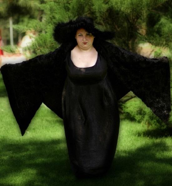 Костюм для полной ведьмочки