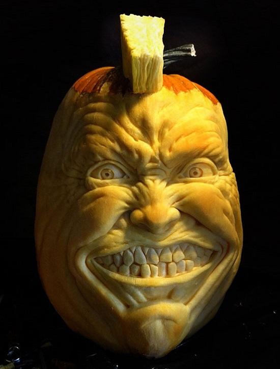 фигура из тыквы Halloween