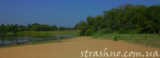 деревенский пляж