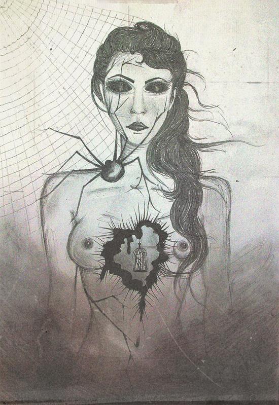 Мой страшный рисунок