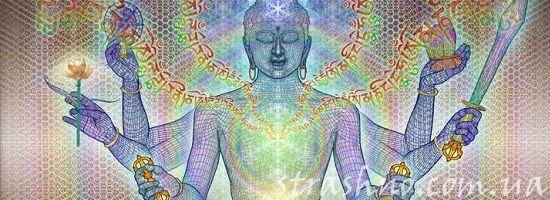 шестирукий синий бог Шива
