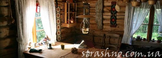 кухня деревенский дом