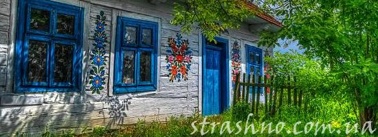 лето сельский дом