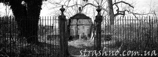 склеп кладбище