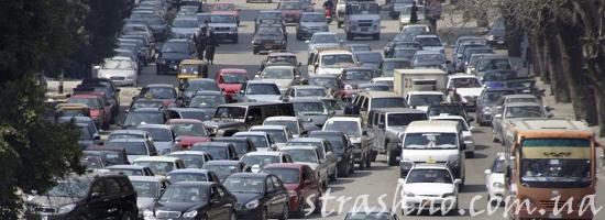 дорожное движение египет