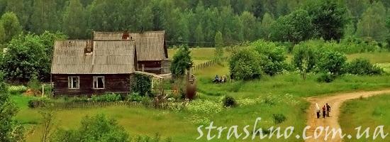 деревня лето