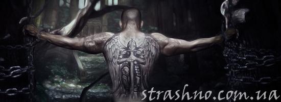 мужчина заключённый татуировка