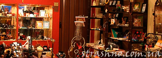 Мистическая история про магазин сувениров