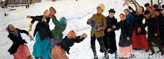 зимние народные гуляния