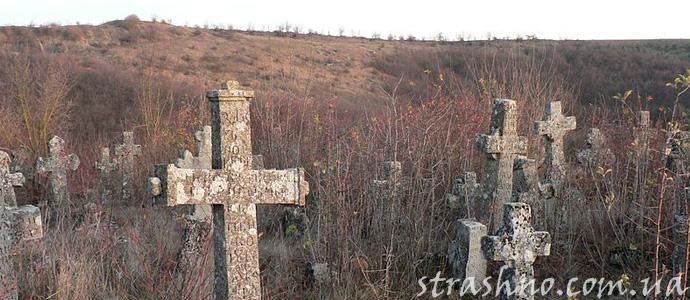 история о заброшенном кладбище