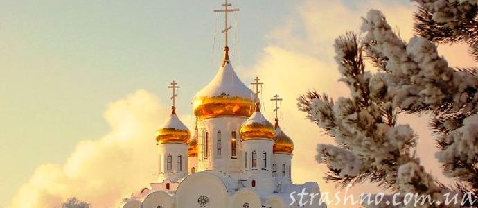 мистическое происшествие в развалинах церкви