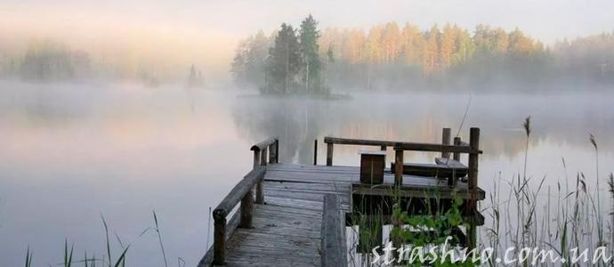 история о мистической смерти на воде