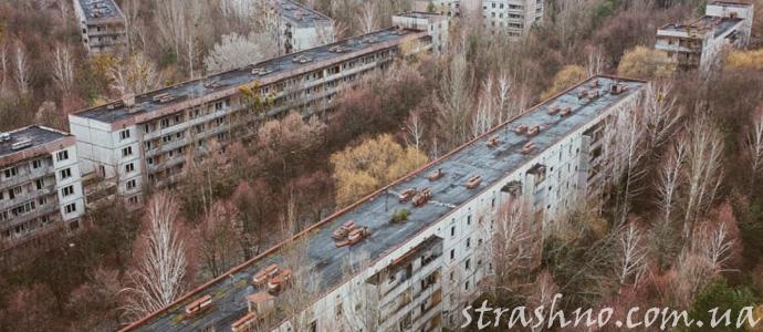 Чернобыль после аварии