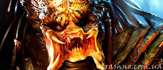 кадр из фильма ужаса Хищник