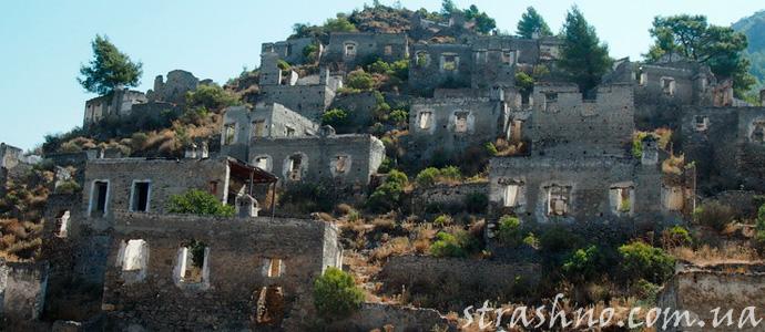 город-призрак в Турции