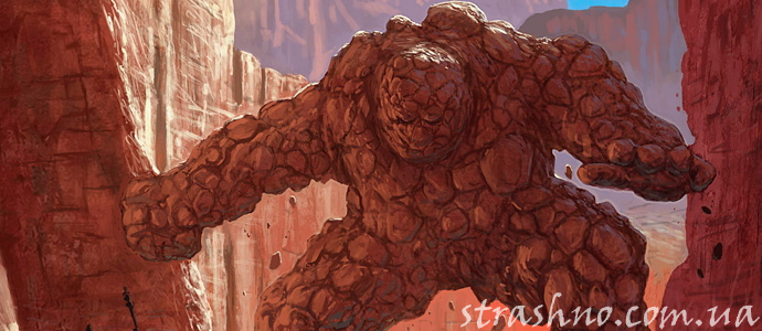 фантазии о глиняном Големе