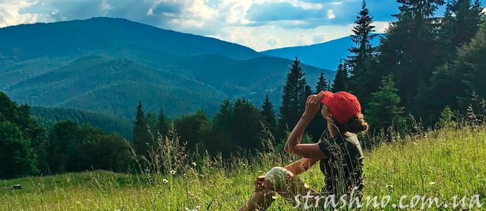 мистические шары в горах Карпат