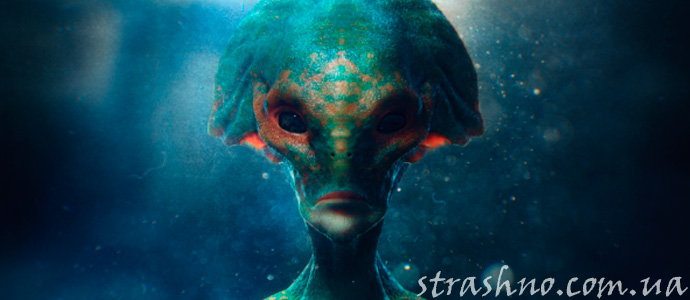 история о пришельце из другой галактики