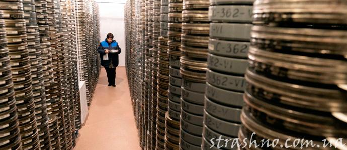 история о привидении в архивном помещении