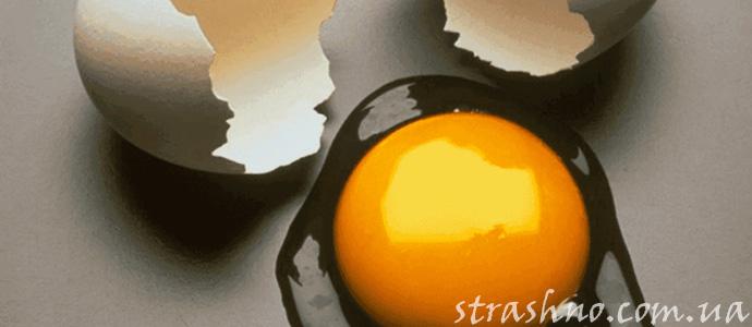 история о порче с помощью подброшенных яиц