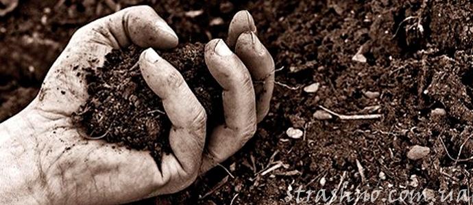 мистическая история о земле покойника
