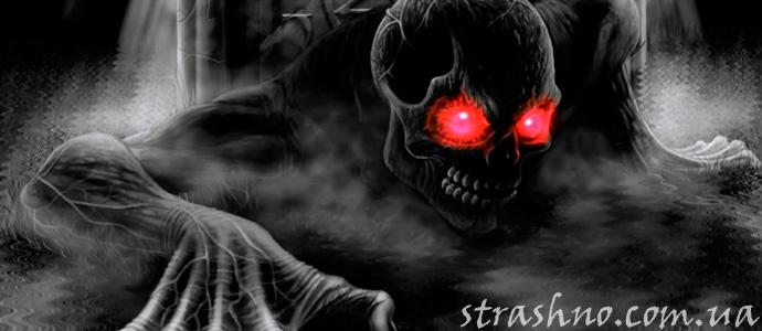 страшный сон о дьяволе, принявшем облик матери