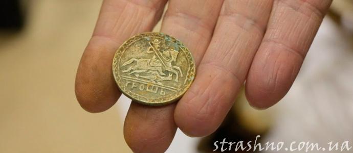 монета - знак ангела