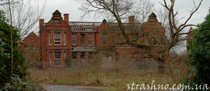 заброшенное здание старой больницы