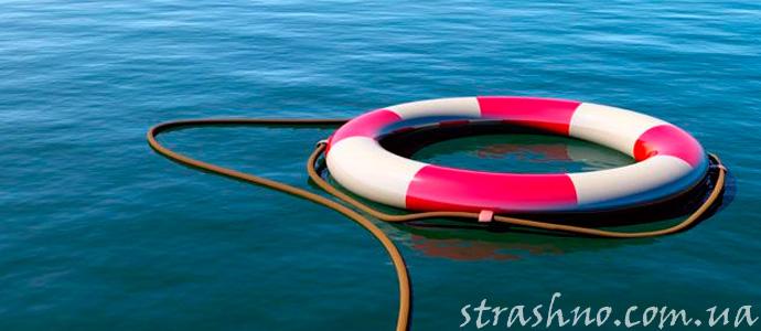 история о мистическом спасении на море