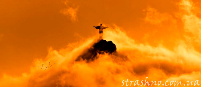 мистическое видение Иисуса Христа